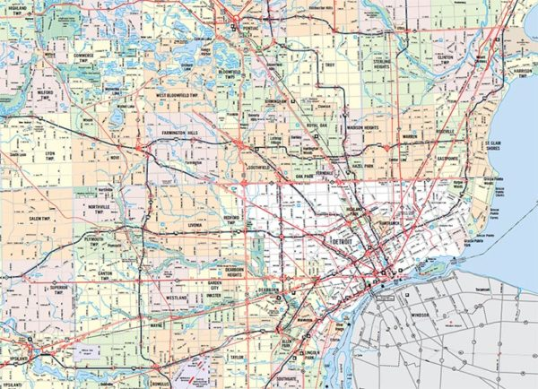 map of detroit metro area Metro Detroit Homes For Sale July 2020 map of detroit metro area